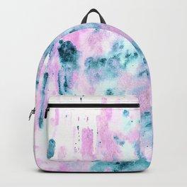 Pink Tie-Dye Backpack