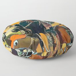 Giddy-up Floor Pillow