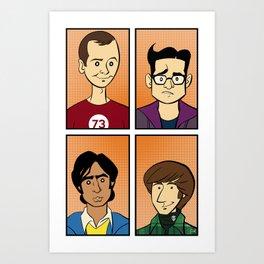 The Big Bang Theory Art Print
