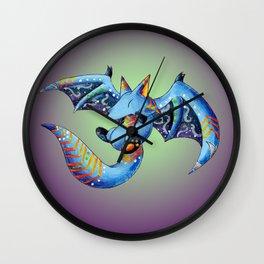 Nocturnal Trickster Wall Clock