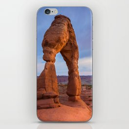 Golden Arch - Delicate Arch at Sunset in Utah iPhone Skin