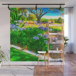 Rainbow Garden Wall Mural