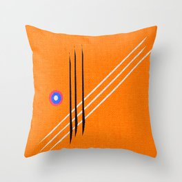design deko figures Throw Pillow