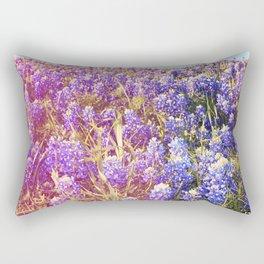 Bluebonnets! Rectangular Pillow