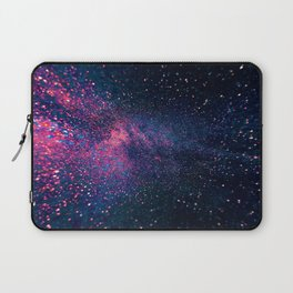 Sparkles Galaxy (Color Boost) Laptop Sleeve