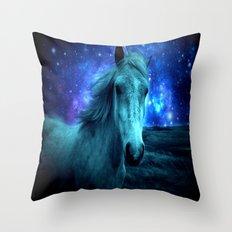 Fairy Tale Horse Throw Pillow