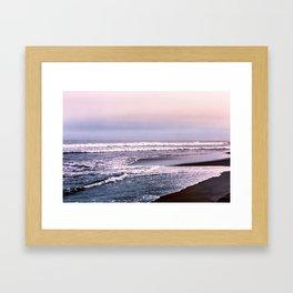 Northern beach Framed Art Print