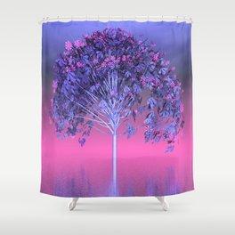 strange light somewhere -30- Shower Curtain
