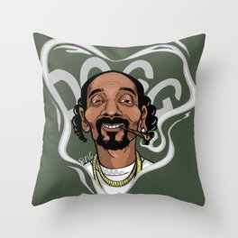 D-O-Double-G Throw Pillow