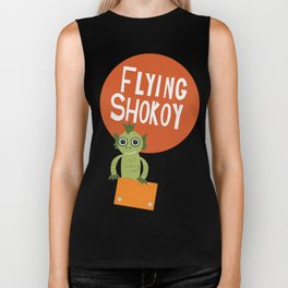 Flying Shokoy (Philippine Mythological Creatures Series) Biker Tank