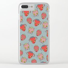 Wild Strawberries - Sweet Clear iPhone Case
