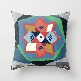 folkloric Throw Pillow