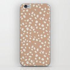 PEACH PEBBLES iPhone & iPod Skin