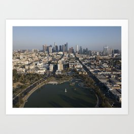 MacArthur Park Los Angeles Art Print