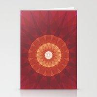 kaleidoscope Stationery Cards featuring kaleidoscope by UiNi