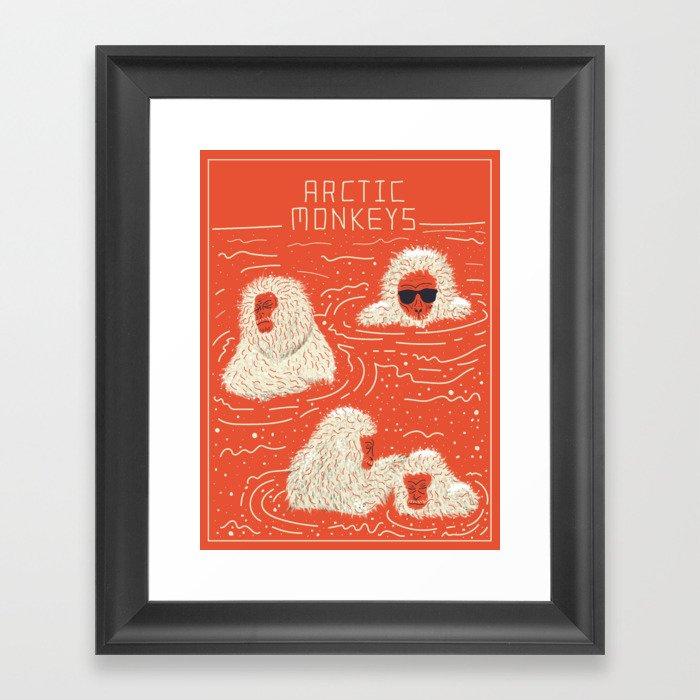 Actual Arctic Snow Monkeys Gerahmter Kunstdruck