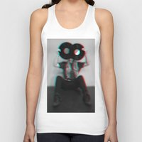 3d Tank Tops featuring 3D  by Vivid Creations