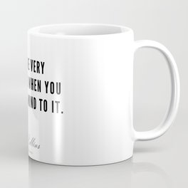80  | Mel Robbins Quotes | 190802 Coffee Mug