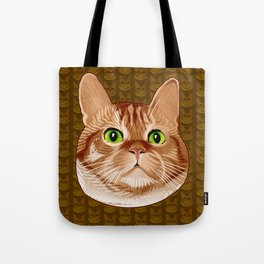 Roswell the Cat Tote Bag