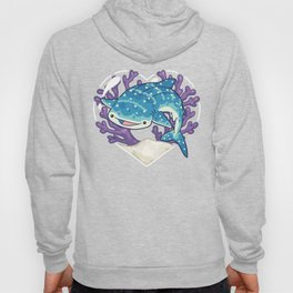 NOM the Whale Shark Hoody