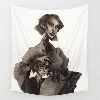ahs Wall Tapestries featuring T.C. by MYLÈNE BRAGINA