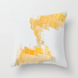 Sticky Abstractions 001 Throw Pillow