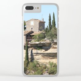 The South of France Clear iPhone Case