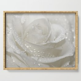 Rose white 0115 Serving Tray