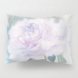 White Peony Pillow Sham