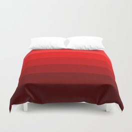 Maraschino Reds - Color Therapy Duvet Cover