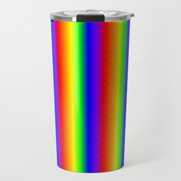 Rainbow Gradient Travel Mug