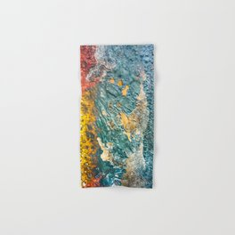 Colorful Abstract Texture Hand & Bath Towel