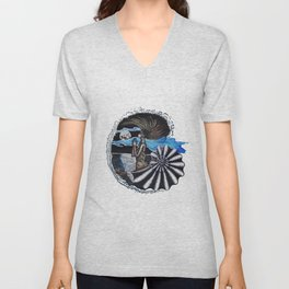 SEA SPIRIT Unisex V-Neck