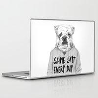 shit Laptop & iPad Skins featuring Same shit... by Balazs Solti