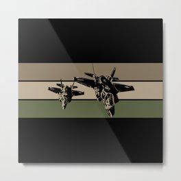 F-35 Stealth Fighters Metal Print