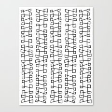 Zags Canvas Print