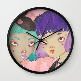 Lunapark Wall Clock