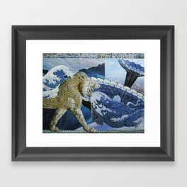 Different Worlds Framed Art Print