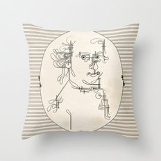 Custom made Mozart Throw Pillow