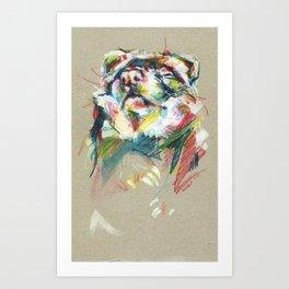 Ferret II Art Print