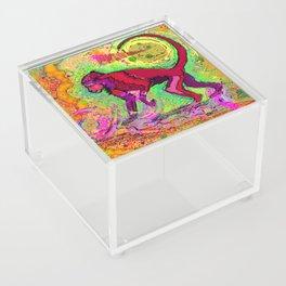 Monkey dreamer Acrylic Box