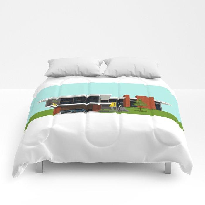Mid Century House 4 Comforters