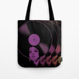 Afrovinyl Continuum Tote Bag