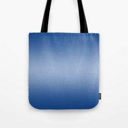 Blue to Pastel Blue Horizontal Bilinear Gradient Tote Bag