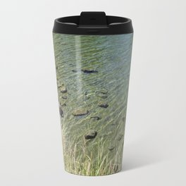 The Calm Along the River Travel Mug