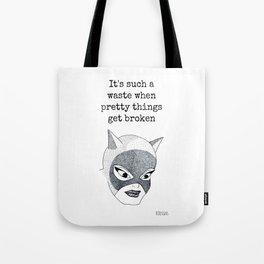 DC Comics Dotwork Print Tote Bag