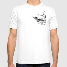 Dragon — Alternative t-shirt style (small image) Mens Fitted Tee MEDIUM White