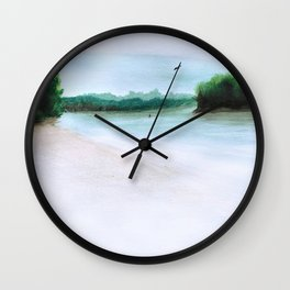 The Middl Grounds Wall Clock