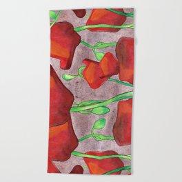 August Beach Towel