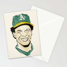 """Rickey """"The Man of Steal"""" Henderson Stationery Cards"""